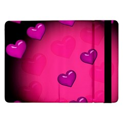 Background Heart Valentine S Day Samsung Galaxy Tab Pro 12 2  Flip Case