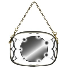 Metal Circle Background Ring Chain Purses (two Sides)  by BangZart