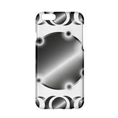 Metal Circle Background Ring Apple Iphone 6/6s Hardshell Case