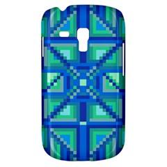 Grid Geometric Pattern Colorful Galaxy S3 Mini