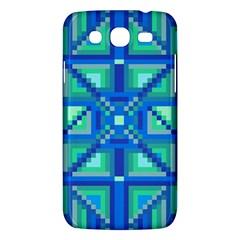 Grid Geometric Pattern Colorful Samsung Galaxy Mega 5 8 I9152 Hardshell Case