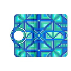 Grid Geometric Pattern Colorful Kindle Fire Hd (2013) Flip 360 Case by BangZart