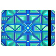 Grid Geometric Pattern Colorful Ipad Air 2 Flip