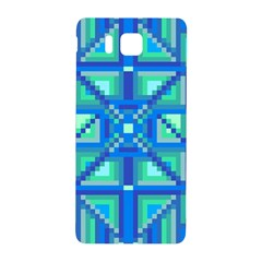 Grid Geometric Pattern Colorful Samsung Galaxy Alpha Hardshell Back Case