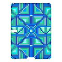 Grid Geometric Pattern Colorful Samsung Galaxy Tab S (10 5 ) Hardshell Case  by BangZart