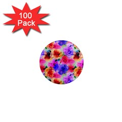 Floral Pattern Background Seamless 1  Mini Magnets (100 Pack)  by BangZart