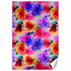 Floral Pattern Background Seamless Canvas 20  X 30