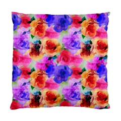Floral Pattern Background Seamless Standard Cushion Case (two Sides) by BangZart