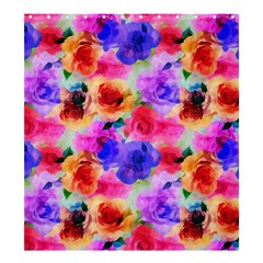 Floral Pattern Background Seamless Shower Curtain 66  X 72  (large)  by BangZart