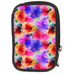 Floral Pattern Background Seamless Compact Camera Cases by BangZart