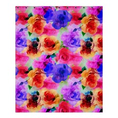Floral Pattern Background Seamless Shower Curtain 60  X 72  (medium)  by BangZart