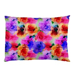 Floral Pattern Background Seamless Pillow Case (two Sides) by BangZart