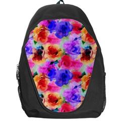 Floral Pattern Background Seamless Backpack Bag