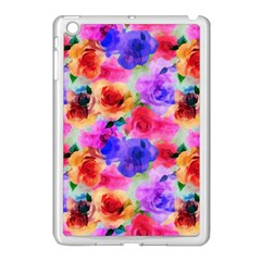 Floral Pattern Background Seamless Apple Ipad Mini Case (white) by BangZart