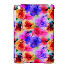 Floral Pattern Background Seamless Apple Ipad Mini Hardshell Case (compatible With Smart Cover) by BangZart