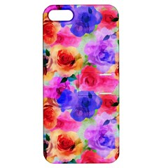 Floral Pattern Background Seamless Apple Iphone 5 Hardshell Case With Stand by BangZart