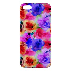 Floral Pattern Background Seamless Apple Iphone 5 Premium Hardshell Case by BangZart