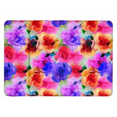 Floral Pattern Background Seamless Samsung Galaxy Tab 8 9  P7300 Flip Case by BangZart