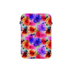Floral Pattern Background Seamless Apple Ipad Mini Protective Soft Cases by BangZart