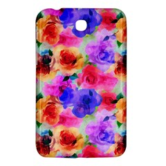 Floral Pattern Background Seamless Samsung Galaxy Tab 3 (7 ) P3200 Hardshell Case  by BangZart