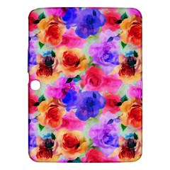 Floral Pattern Background Seamless Samsung Galaxy Tab 3 (10 1 ) P5200 Hardshell Case  by BangZart
