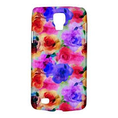 Floral Pattern Background Seamless Galaxy S4 Active by BangZart