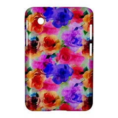 Floral Pattern Background Seamless Samsung Galaxy Tab 2 (7 ) P3100 Hardshell Case  by BangZart