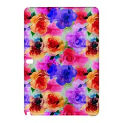 Floral Pattern Background Seamless Samsung Galaxy Tab Pro 10 1 Hardshell Case