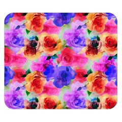 Floral Pattern Background Seamless Double Sided Flano Blanket (small)  by BangZart