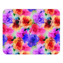 Floral Pattern Background Seamless Double Sided Flano Blanket (large)  by BangZart