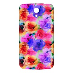 Floral Pattern Background Seamless Samsung Galaxy Mega I9200 Hardshell Back Case