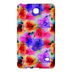 Floral Pattern Background Seamless Samsung Galaxy Tab 4 (7 ) Hardshell Case
