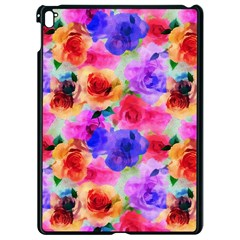 Floral Pattern Background Seamless Apple Ipad Pro 9 7   Black Seamless Case by BangZart