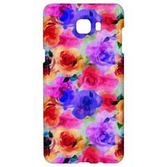 Floral Pattern Background Seamless Samsung C9 Pro Hardshell Case