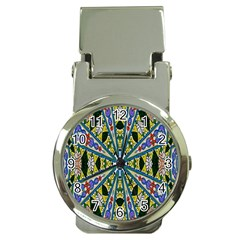 Kaleidoscope Background Money Clip Watches by BangZart