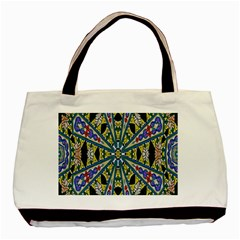 Kaleidoscope Background Basic Tote Bag