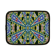 Kaleidoscope Background Netbook Case (small)