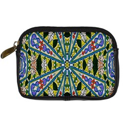 Kaleidoscope Background Digital Camera Cases by BangZart