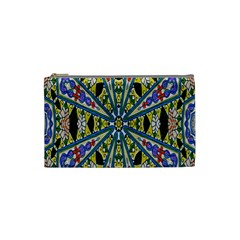Kaleidoscope Background Cosmetic Bag (small)  by BangZart