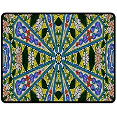 Kaleidoscope Background Fleece Blanket (medium)