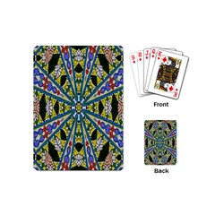 Kaleidoscope Background Playing Cards (mini)
