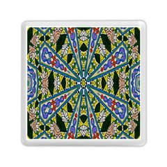 Kaleidoscope Background Memory Card Reader (square)