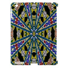 Kaleidoscope Background Apple Ipad 3/4 Hardshell Case (compatible With Smart Cover) by BangZart