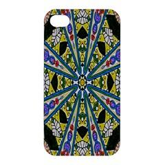 Kaleidoscope Background Apple Iphone 4/4s Premium Hardshell Case by BangZart