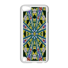 Kaleidoscope Background Apple Ipod Touch 5 Case (white) by BangZart