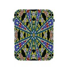 Kaleidoscope Background Apple Ipad 2/3/4 Protective Soft Cases by BangZart