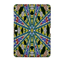 Kaleidoscope Background Samsung Galaxy Tab 2 (10 1 ) P5100 Hardshell Case  by BangZart