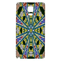 Kaleidoscope Background Galaxy Note 4 Back Case