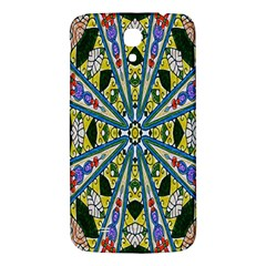 Kaleidoscope Background Samsung Galaxy Mega I9200 Hardshell Back Case by BangZart
