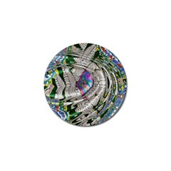 Water Ripple Design Background Wallpaper Of Water Ripples Applied To A Kaleidoscope Pattern Golf Ball Marker by BangZart